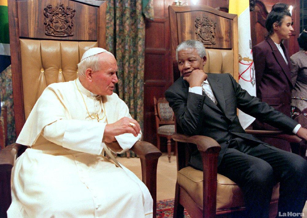 Nelson Mandela, inspirado por el catolicismo