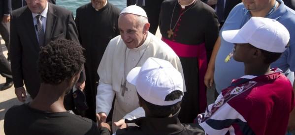 Francisco hace un llamado contra la trata en el mundo