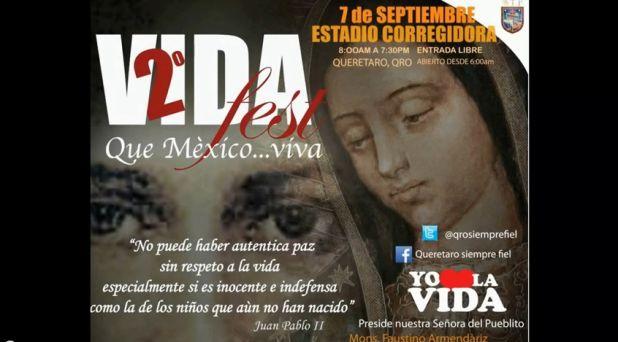 Listo acto de desagravio por aborto en Querétaro México: Se unirán al Papa Francisco