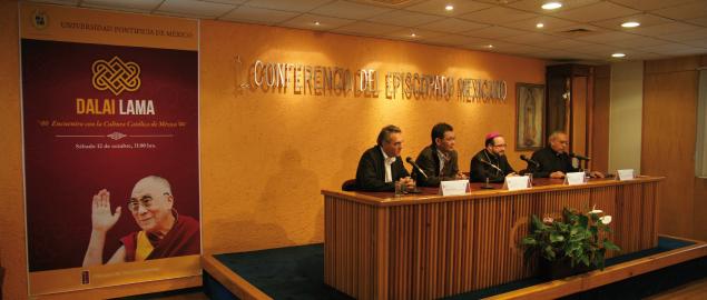 El Dalaí Lama visitará la Universidad Pontificia de México en octubre