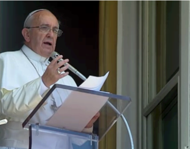 Que se eleve fuerte en toda la tierra el grito de la paz: Francisco