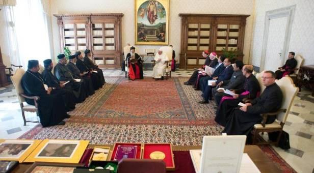 El Papa recibe al Catholicos de la Iglesia Ortodoxa siro-malankar