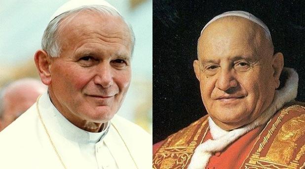 Papas y santos