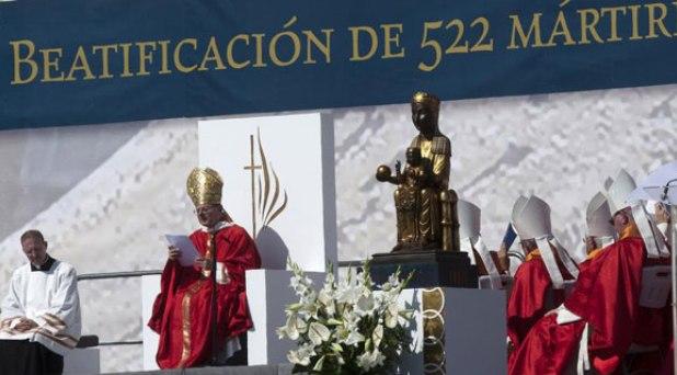 Mártires: profetas siempre actuales de la paz en la tierra