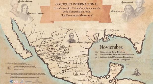 Realizan Coloquio sobre la expulsión, extinción y restauración de los jesuitas