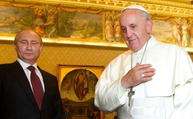 El Papa y el Presidente ruso dialogan sobre la paz en Medio Oriente