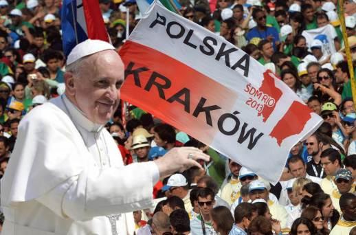 Envía Papa mensaje a los jóvenes polacos en la víspera de la Jornada Mundial de la Juventud