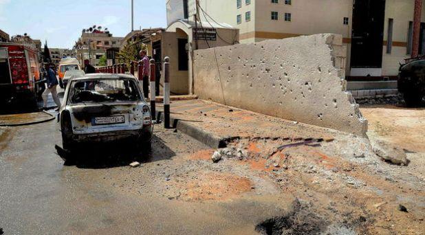Sin víctimas, golpe de mortero a la Nunciatura Apostólica en Siria