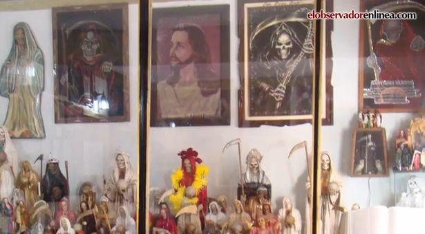 """Peligroso culto a la """"santa"""" muerte"""