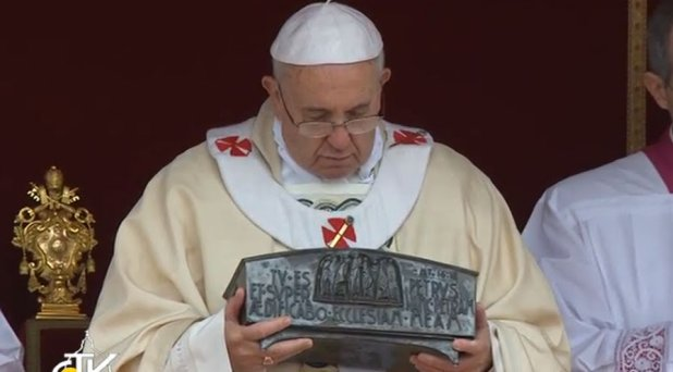 El Papa clausura el Año de la Fe con una solemne Eucaristía