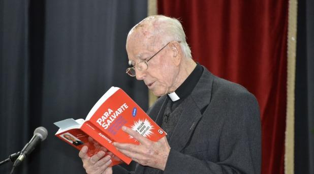 "Murió el padre Jorge Loring, autor de ""Para salvarte"""
