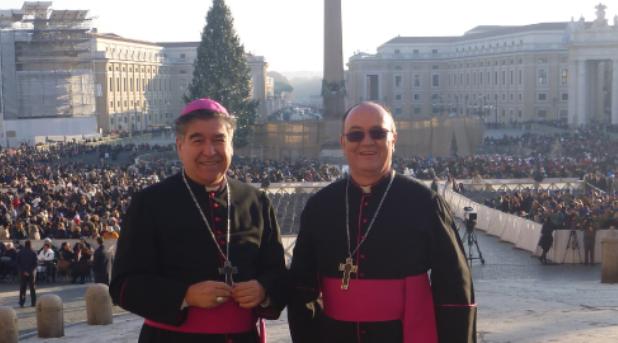 En Roma con el Papa