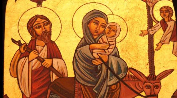 La Sagrada Familia, advertida por Dios, se libra del peligro