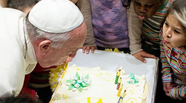¿Cómo celebra un Papa su cumpleaños?