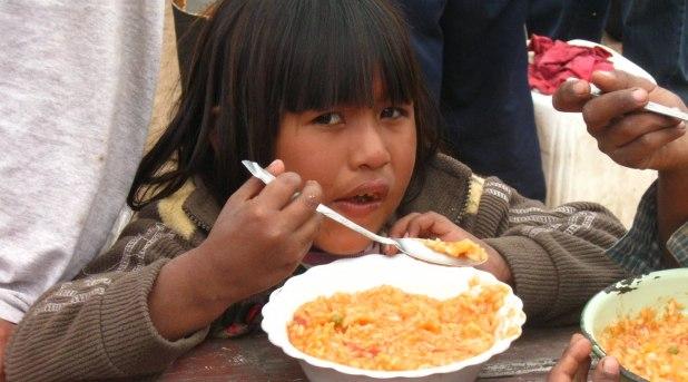 Frente al hambre, no podemos mirar hacia otra parte: Francisco