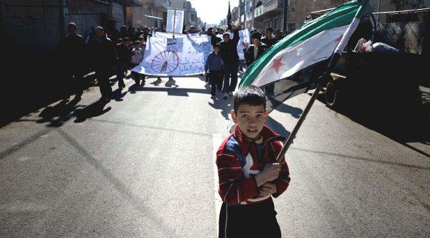 """""""Pedimos una solución para Siria, pedimos por la paz"""""""