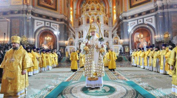 La Iglesia ortodoxa celebra la Navidad