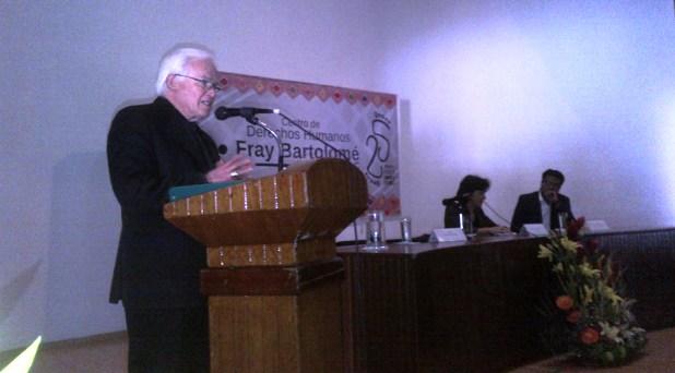 """Dan reconocimiento al Centro """"Frayba"""" de Derechos Humanos"""