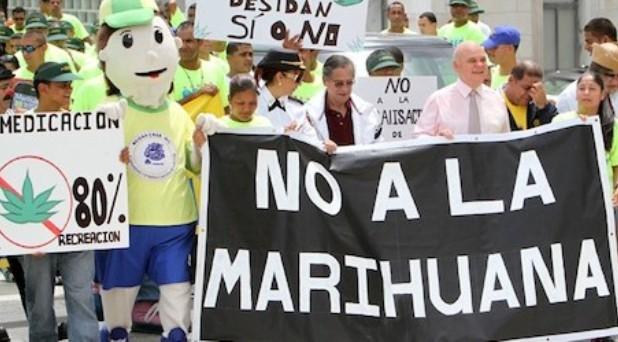 No a la liberalización de la mariguana