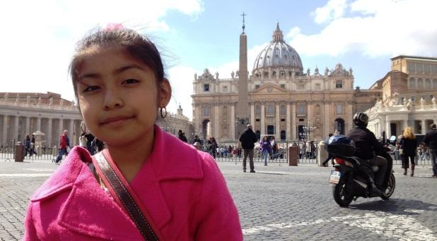 Obama, el Papa y la niña migrante