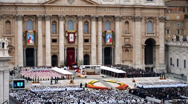 El día de los cuatro Papas y un solo Concilio