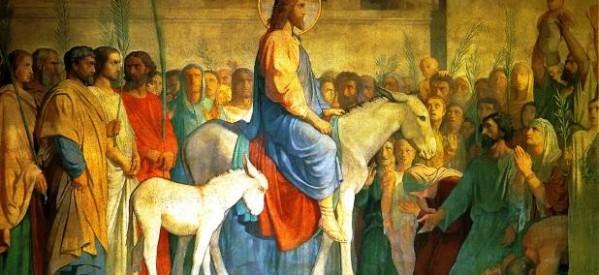 Domingo de Ramos: Jesús sufre por los pecadores