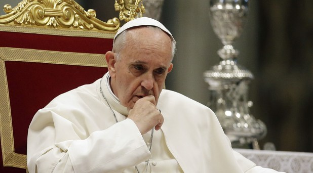 La narrativa contra el Papa Francisco