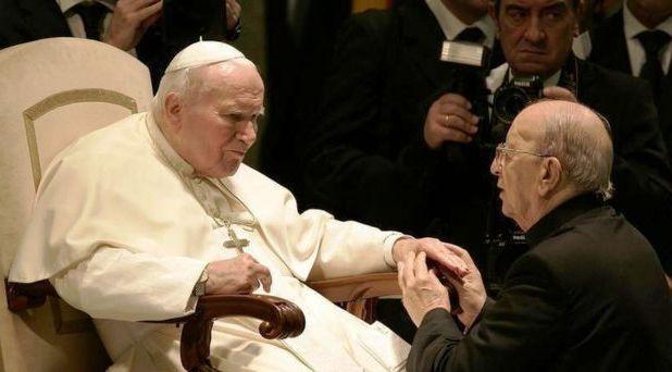 Juan Pablo II no encubrió a Maciel