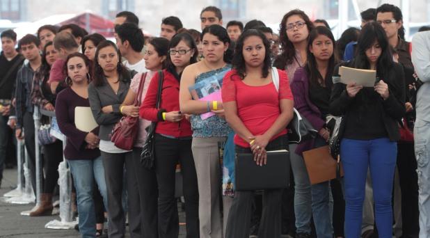 Casi ocho millones de jóvenes latinoamericanos en el desempleo