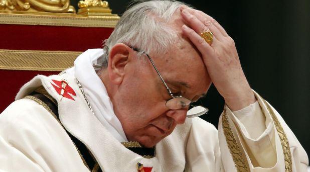 Un Papa que sabe llorar