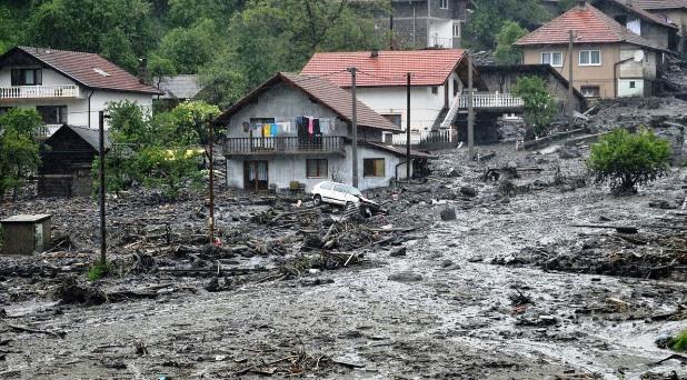 Solidaridad del Papa por inundaciones en los Balcanes