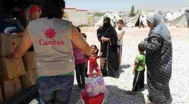 Caridad católica en la crisis de Siria
