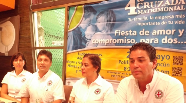 Cuarta Cruzada Matrimonial en Cancún