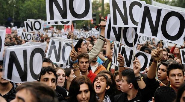 Manifestaciones, justicia y violencia