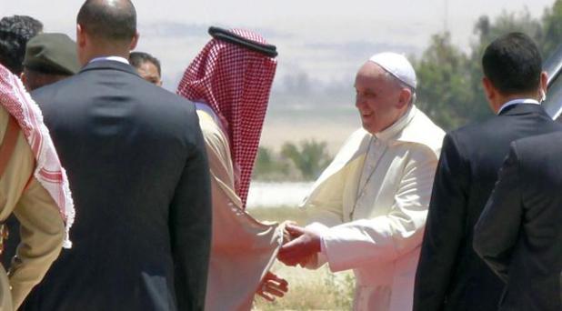 El Papa Francisco visita Tierra Santa