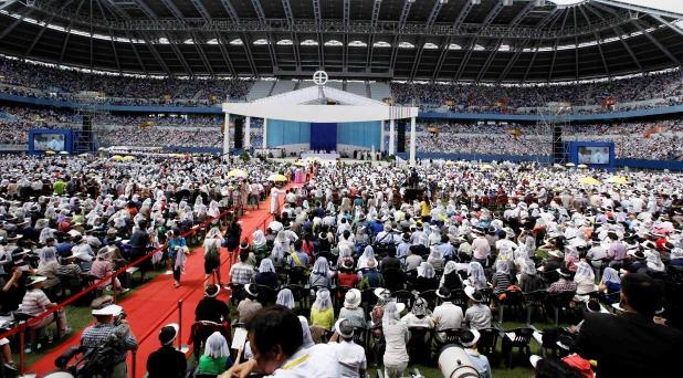 El perdón como camino de reconciliación: mensaje final en Corea