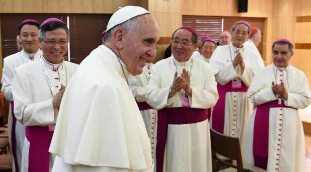 Sean custodios de la memoria y la esperanza: Papa a obispos coreanos