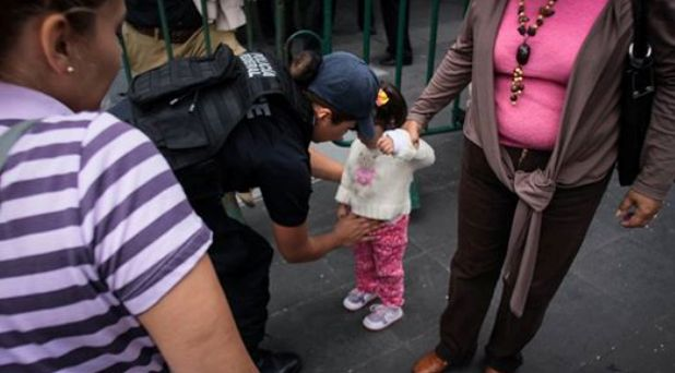 De menores basculeados a la rapiña pública