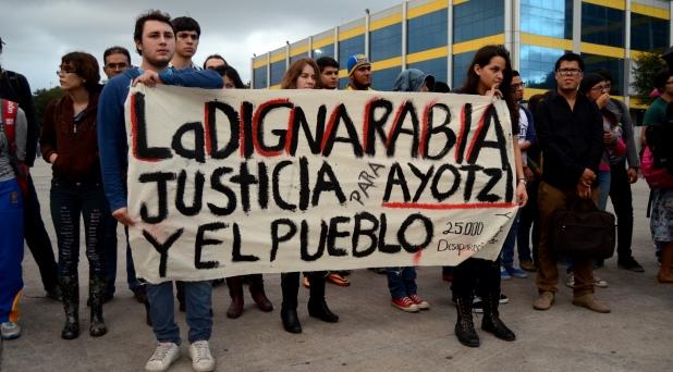 Las CEB's se solidarizan con Ayotzinapa