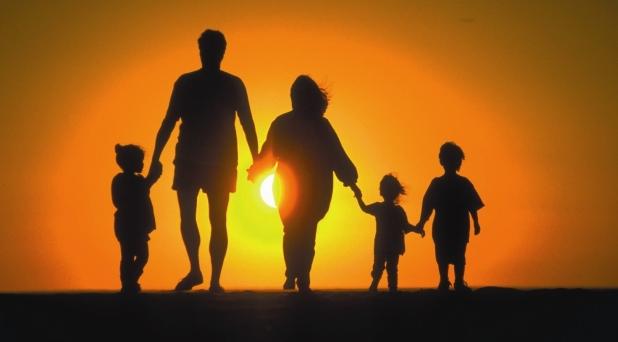 Contra violencia, familia