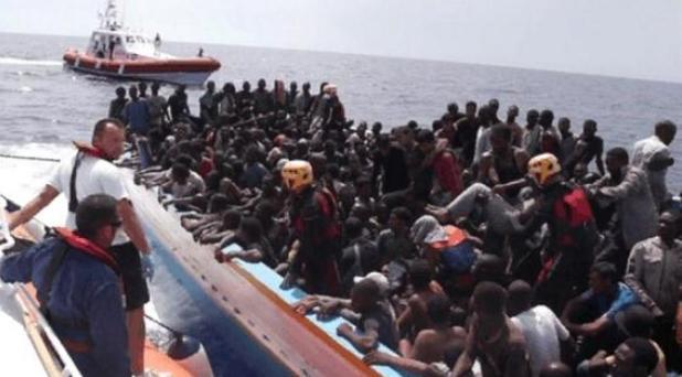 Lampedusa, hace un año