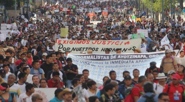 A una sola voz por Ayotzinapa