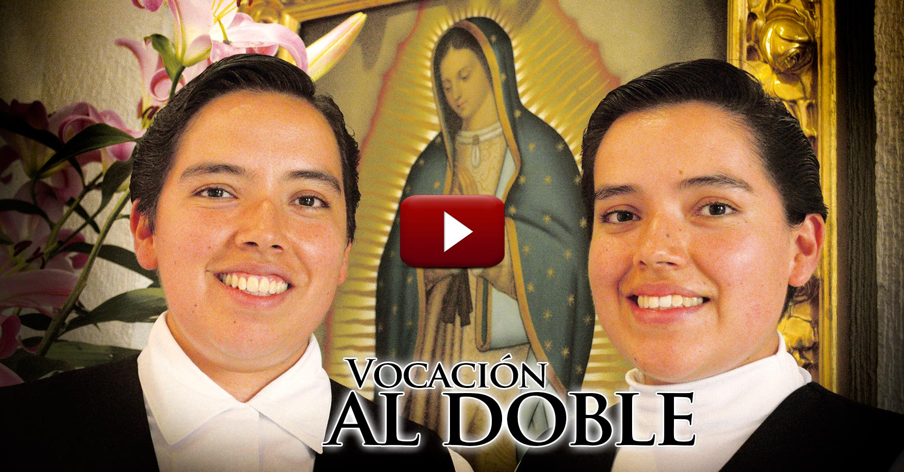 VIDEO Vocación al doble: Gemelas se entregan a Dios como religiosas.