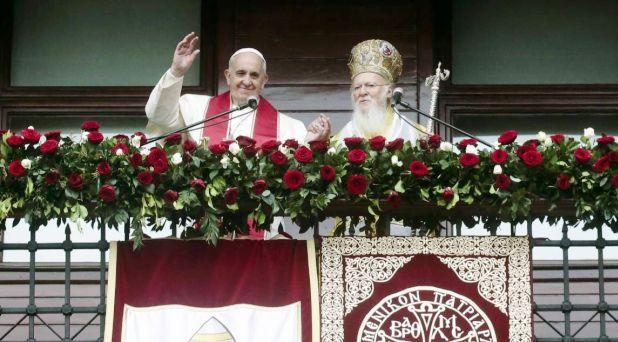 Francisco y Bartolomé I: Intensificar esfuerzos por la unidad
