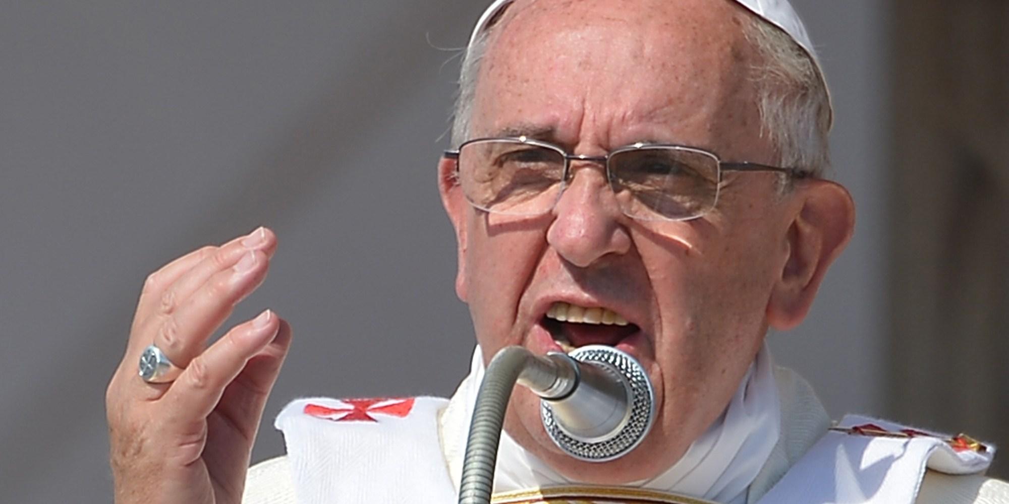 Enfermedades y tentaciones de la curia: Papa Francisco