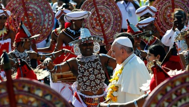 Francisco en Sri Lanka: Promover la justicia, la recuperación y la unidad