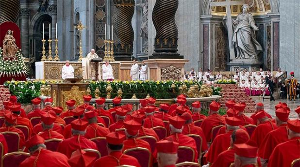 Denunciar la injusticia y servir a la verdad, pide Francisco a los nuevos cardenales