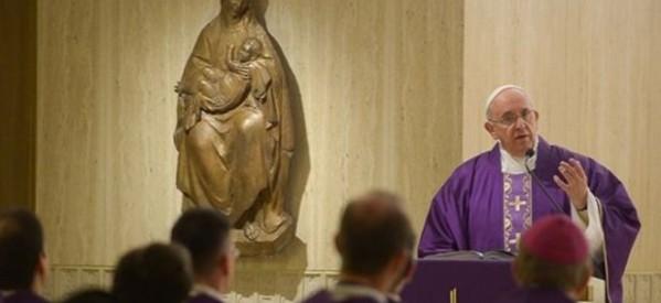 En Cuaresma, la Iglesia hace reflexionar sobre la conversión del pensamiento y de la obras