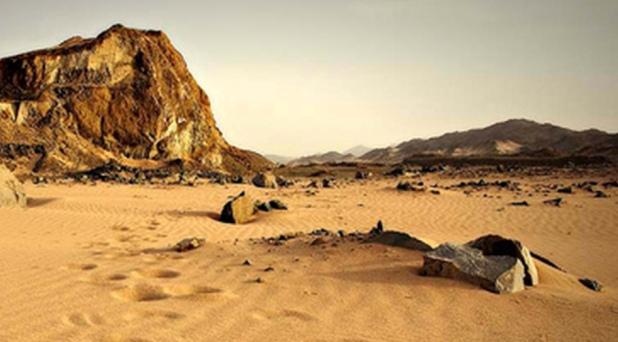 Empujados al desierto