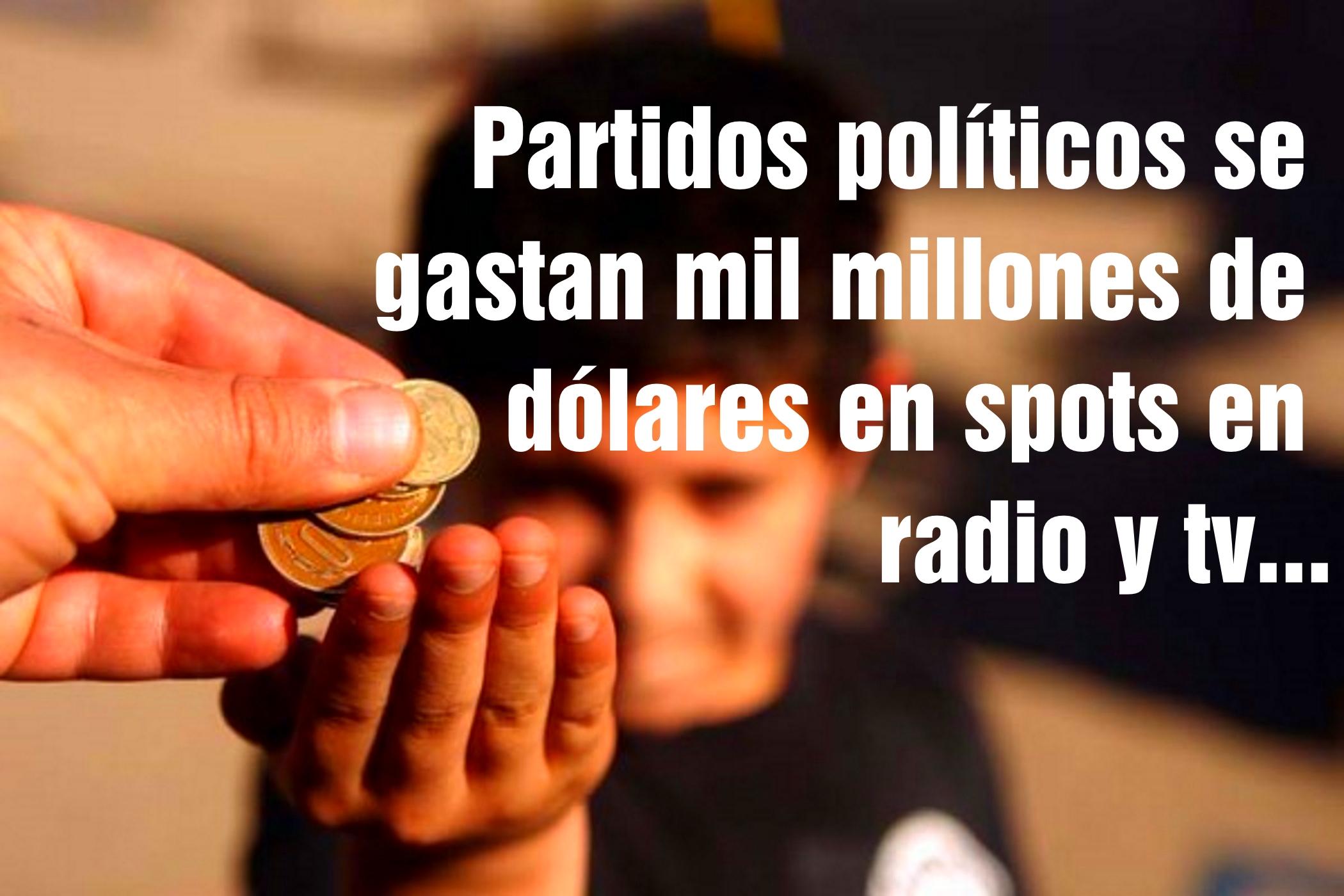 VIDEO Partidos políticos se gastan mil millones de dólares en spots en radio y tv